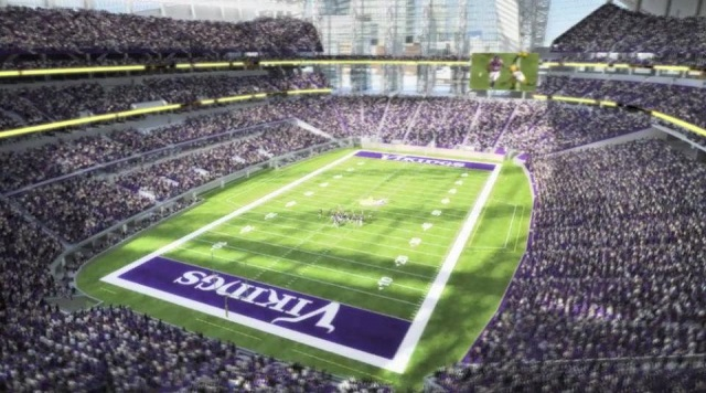 Vikings Stadium Interior