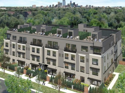 Penthouse Uptown Townhome