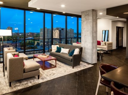 Contemporary 2 Bed in Downtown's Hottest Building!