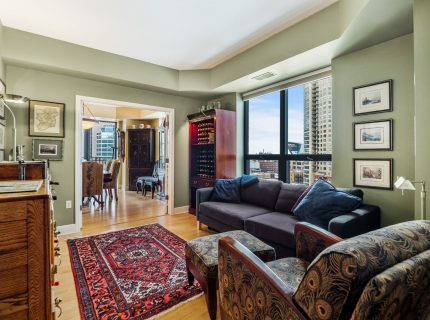 Private Corner Unit! Downtown Views